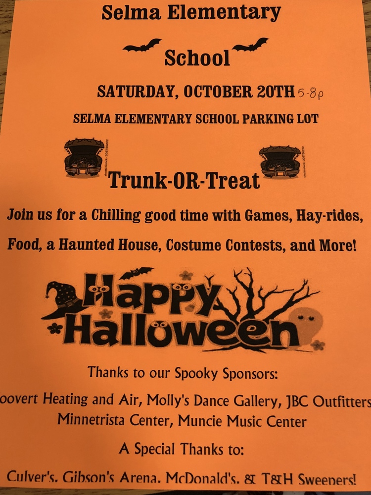 SES Trunk or Treat - Oct. 20, 2018