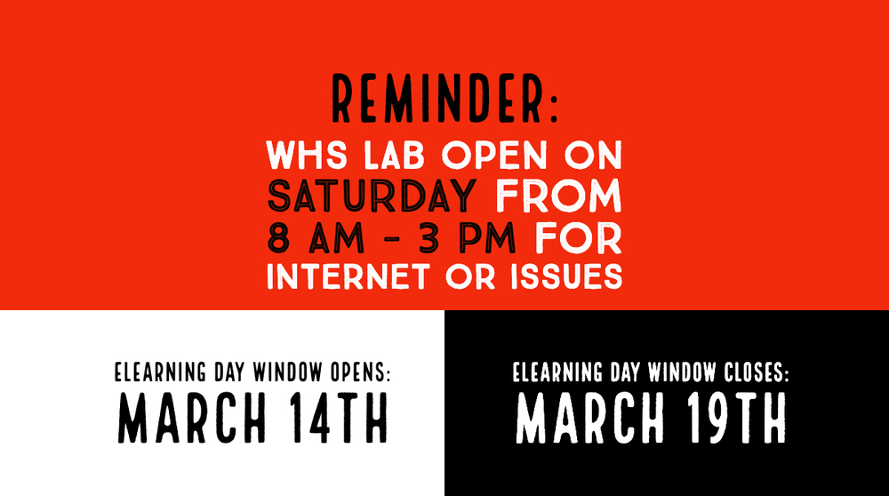eLearning Day Window Open