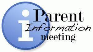 Grades 1-3 Parent iPad Meeting Oct. 15 & 16