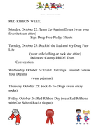 SES Red Ribbon Week